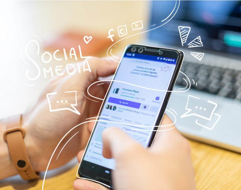 gestion reseaux sociaux entreprise
