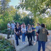Equipe PP découverte et nature au zoo de Mulhouse au séminaire 2019