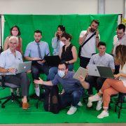 Equipe PP fond vert 2020