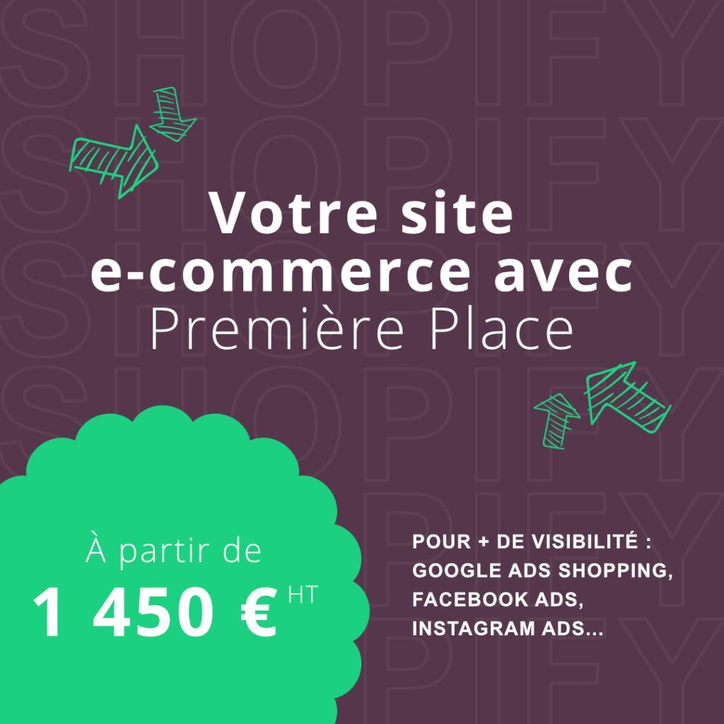 Votre site e-commerce avec Première Place