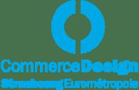 Logo Commerce Design Strasbourg Eurométropole