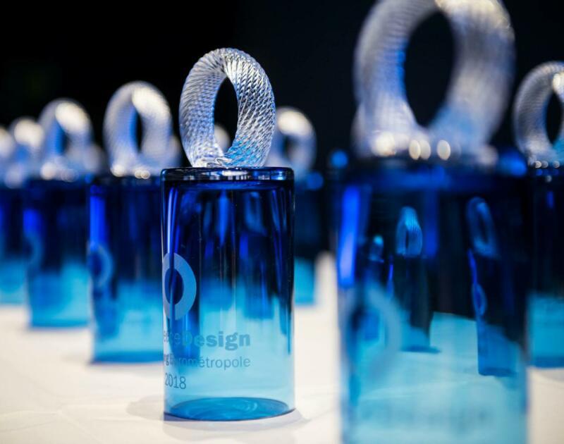 Trophée concours Commerce Design Strasbourg Eurométropole