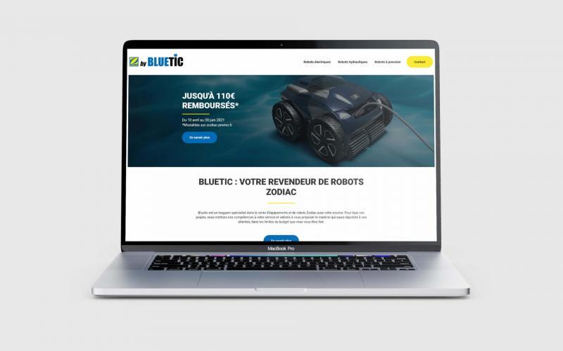 Bluetic site web